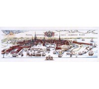 Historical Map of Copenhagen - 12-019B - 30ct