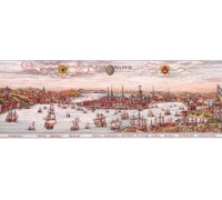 Historical map of Stockholm - 12-437C - 26ct