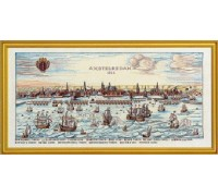 Historical Map of Amsterdam - 12-318B - 30ct