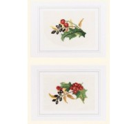 Holly and Berries Card Kit - 45-324C - 26ct