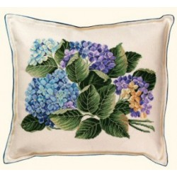 Floral Cross Stitch Cushions