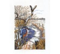 Kingfisher in Winter - 14-060C - 26ct