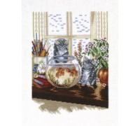 Kittens and Goldfish - 14-015C - 26ct