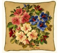 Lilies Tapestry Cushion Front - 56-223N - 11ct