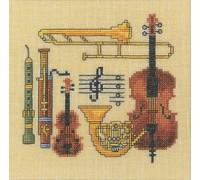 Musical Sampler - 12-947C - 26ct