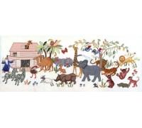 Noahs Animals - 12-272H - 14ct