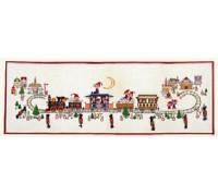 Elf Train Christmas Advent Calendar