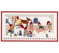 Pixies Christmas Advent Calendar - 15-256H - 14ct