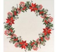 Poinsettia Tablecloth