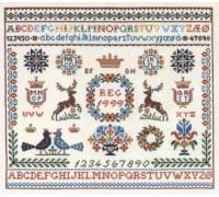 Stags Alphabet Sampler - 12-751C - 26ct