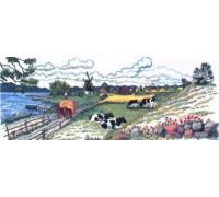 Summer Farm Scene