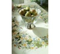 Summer Hedgerow Tablecloth - 12-4584C - 26ct