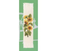 Sunflower Bookmark - 45-235C - 26ct