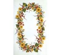 Sunflowers Tablecloth - 12-2104C - 26ct - 165 x 250cm