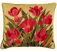 Tulips Tapestry Cushion Front - 01-0412N - 11ct