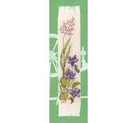 Violets Bookmark - 45-224C - 26ct