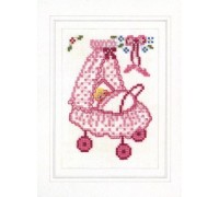 Baby Girl Card Kit - 45-234C - 26ct