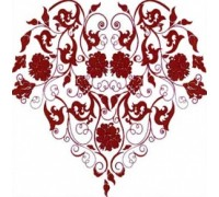 Floral Filigree Chart - 09-1608 - chart only