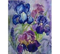 Iris by Josephine Wall Chart - 09-1621 - chart only