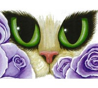 Lavender Roses Chart - 09-1620 - chart only