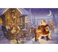 Santa Claus at the North Pole Chart - 07-2656 - chart only