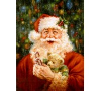 Santa's Best Friend Bear Chart - 08-1081 - chart only