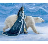 Snow Princess and the Polar Bear - 07-2950 - chart only