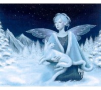 Winter Fairy - Heaven and Earth Chart - 07-2952 - chart only