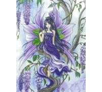 Wisteria Fairy - Heaven and Earth Chart or Kit