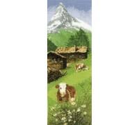 Swiss Alpine Meadow Panel