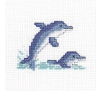 Dolphins Junior Cross Stitch - JDO426 - 11ct