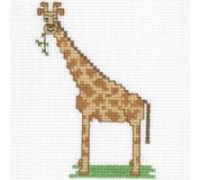 Giraffe Junior Cross Stitch - JGI427 - 11ct