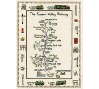 Severn Valley Railway Map - MSV534 - 27ct