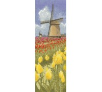 Amsterdam Tulip Fields Panel
