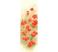 Wild Poppies Panel