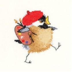 Chickadees by Valeries Pfeiffer