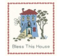 Bless This House Sampler by Heritage Crafts