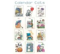 Calendar Cats by Peter Underhill