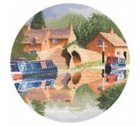 Canal Reflections Circle