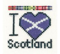 I Love Scotland Mini - MKLS641