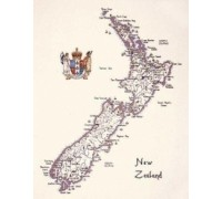 Map of New Zealand - WMNZ215 - 27ct
