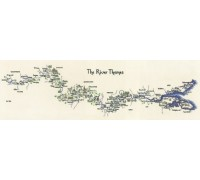 River Thames Map by Susan Ryder - MRT981 - 27ct
