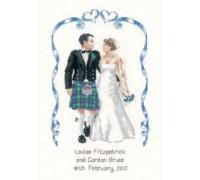 Scottish Wedding Sampler by Peter Underhill