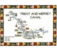 Trent and Mersey Canal Map