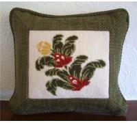 Cut Velvet Mini Floral II Tapestry