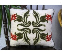 Cut Velvet Floral Quartet I Tapestry