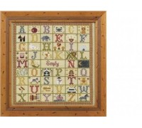 A to Z Cross Stitch Birth Sampler