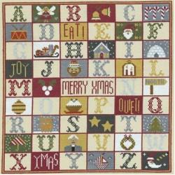 Christmas Samplers by Historical Sampler Co