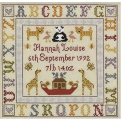 Birth Samplers by Historical Sampler Co