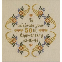 Anniversary Samplers by Historical Sampler Co